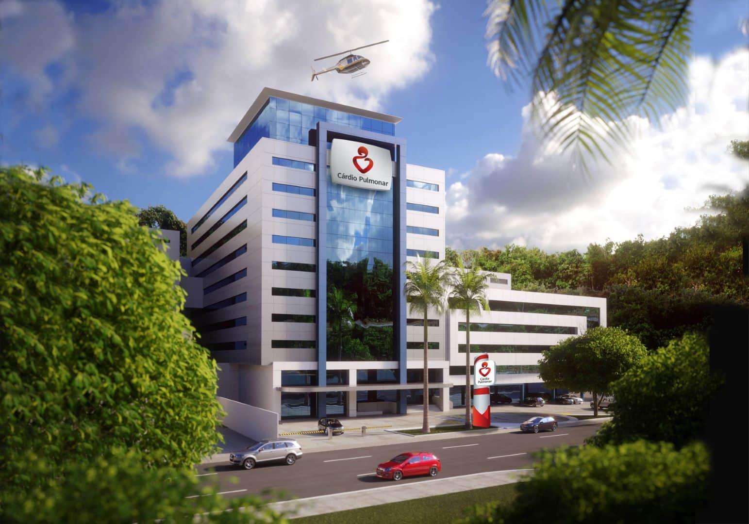 Hospital Cardio Pulmonar en Salvador Bahía