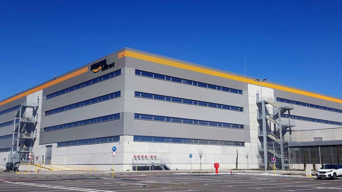 Centro Logístico AMAZON en Barcelona