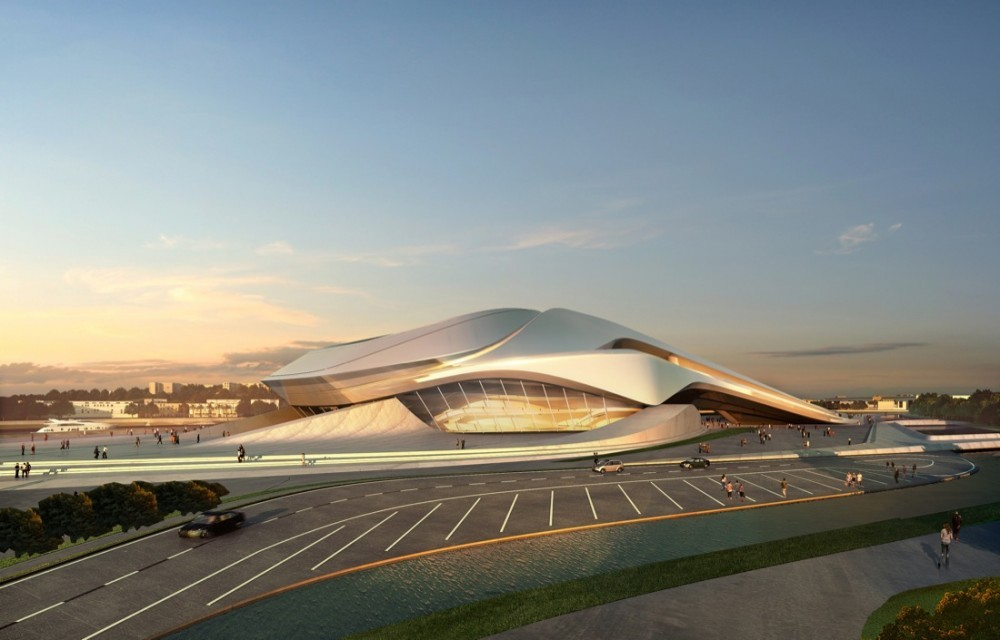 Gran Teatro de Rabat (Zaha Hadid Architects)
